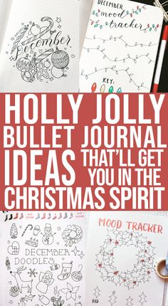 Have you got your bullet journal set up for December yet? These past few months have been so busy that I haven't really done a pretty theme in my bullet journal…. in AGES! December Bullet Journal, Bullet Journal Monthly Spread, Bullet Journal Set Up, Bullet Journal Hacks, Bullet Journal Printables, Bullet Journal How To Start A, Journal Template, Bullet Journal Themes, Bullet Journal Layout
