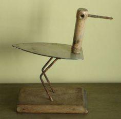 "Saatchi Art Artist Oriol Cabrero; Sculpture, ""stone curlew"" #art"
