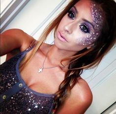 50 of the best Halloween Makeup Ideas - I would love to do really fancy makeup for Trick or Treat for Cans but I never have a good idea for it