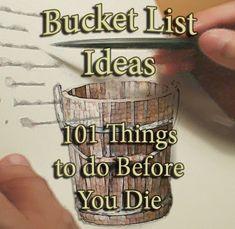 Bucket List Ideas