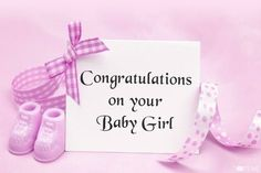Baby girl congratulations quotes pictures 30 Ideas for 2019 Baby Girl Congratulations Message, Baby Girl Messages, Congratulations Images, Newborn Baby Girl Quotes, New Baby Quotes, Baby Girl Born, Twin Baby Girls, Baby Baby, Baby Announcement Message
