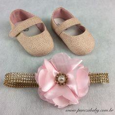 Linha Baby com Novidades em nossa loja Virtual   Sapatilha oncinha rosa - R$ 44,90 http://purezababy.com.br/sapatilha-babyi-oncinha-rosa.html Faixa R$ 26,00