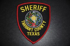 Tarrant County Sheriff Patch, Texas (Current Issue)