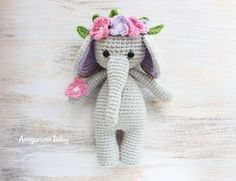 Download Cuddle Me Elephant Amigurumi Pattern (FREE)