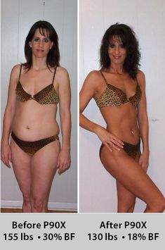 P90X Female Before and After Weight Loss For weight loss tips and advice try http://weightlosscentralhq.com