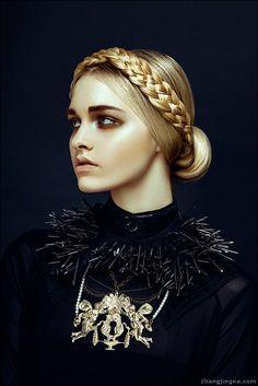 Harper's Bazaar Vietnam: Nu Renaissance Aristocracy on Behance