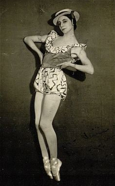 Alicia Markova in 'Facade' in 1931