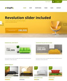 This interior design and furniture WordPress theme comes with Revolution Slider, a clean design, a mega menu, unlimited sidebars and colors, WooCommerce support, a responsive layout, CSS3 and HTML5 code, and more.