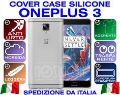 COVER CASE SILICONE ONEPLUS 3 THREE A3000 FUNDA COQUE ULTRA THIN MORBIDA TPU GEL