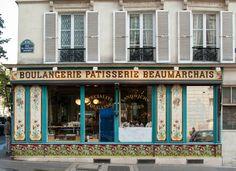 Rue du Pasteur Wagner, Paris 11e. Octobre 2015.