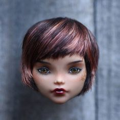 OOAK Monster High repaint custom doll Cleo de Nile HEAD ONLY