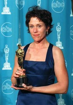 Frances McDormand won the Academy Award for  Best Actress for the film Fargo in 1996.