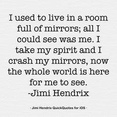 Jimi Hendrix- quote