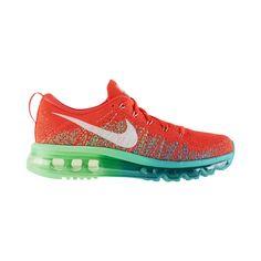 The Nike Flyknit Air Max Women's Running Shoe.