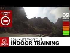30 Minute Workout - Indoor Cycling Hill Climb Training - YouTube