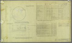Original US WWII Era Pencil Drawings on Vellum Paper Noblitt - Sparks Industries, Inc., Columbus, Indiana  **Set of 5 Different Drawings**