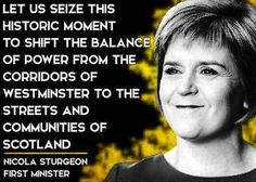 SNP Nicola Sturgeon first minister