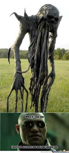 Most Scary Pictures Ever | RMX] Scariest Scarecrow Ever - Meme Center