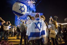 Israel's Independence Day celebrations are well underway across the country. Israel's 70th Independence Day kicked off yesterday evening with the official state ceremony in Jerusalem. In the pictures below, see how Israelis are marking this special event.