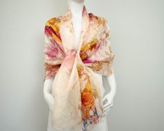 linen scarves made in italy