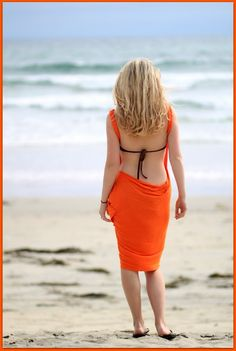 No Sew Easy Swimsuit Cover Up Tutorial DIY