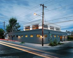 SE Division Street is a commercial building project that was transformed by Emerick Architects into an industrial home in Portland, Oregon.
