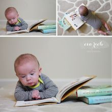 Four Months Old - Baby Portraits - Portrait Session - Eva Rieb Photography - Seattle Area Photographer