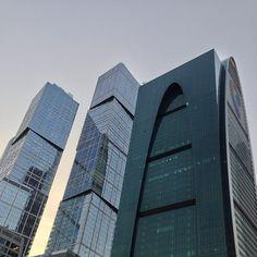 #Moskwa i jej potężne #budynki w centrum