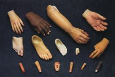 Assorted prosthetics