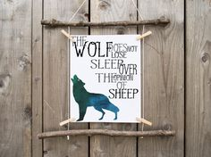 Wolf Print - Printable - Wild Animals - Wolves - Fenrir - Art - Quote Print - Inspiration Quote - Wall Art - Spirit Animal - Instant