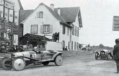 Grand Prix de l'A.C.F. 1922 tourisme à Strasbourg, Piccioni devant Henri Rougier…
