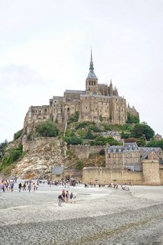 Here's your guide to the most beautiful towns in Normandy in France! A complete list of the cities and villages you simply must see in Northern France. Saint Michael France, St Michael, Paris, Region Normandie, Le Mont St Michel, Travel Tours, Travel List, Tourist Sites, Normandy France