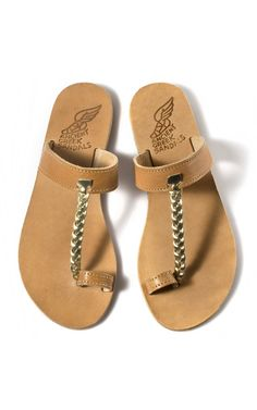 Perfect summer shoe.  Perfect summer price $195 #AncientGreekSandals
