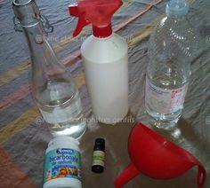 Aujourd'huije partage avec vous ma recette d'un produit indispensable dans la salle de bain et la cuisine : le nettoyant anti-calcaire. Vous pourrez l'utiliser sur votre robinet…