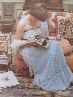 Lady Diana Spencer, at Althorp in 1980 (according to Morton book) She gifted this dress in 1981 to her wax statue at Madam Tussauds. It later wore a replica of her wedding dress.