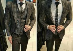 That blazer's texture is terrific!  @terno_decinel  Tag @gentsgearguide for a feature