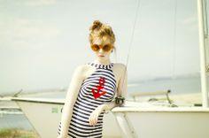 Esther-fromthesticks: The Seaside - Vintage 60s Swimsuit