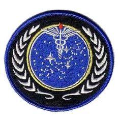 Star Trek Starfleet Medica Patch