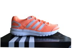 Adidas Duramo 6 Women's Running Trainers Peach/White B39765