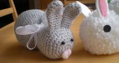 Hello, Easter is coming slowly and I have promised to crochet a lot of bunnies for library charity auction – I'll write about that in anoth...