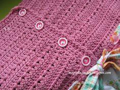 Magia do Crochet: Crochet e costura...mais vestidos.