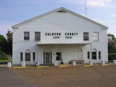 Calhoun County Courthouse - Pittsboro, Mississippi