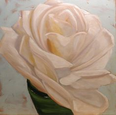 Mary Catherine's Rose, Daily Paintworks - Claire Henning