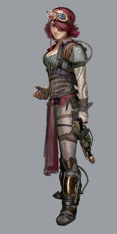 numenera female jack - Google Search