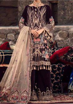 Velvet Pakistani Dress, Pakistani Dresses, Model Pictures, Dress Brands, Luxury, Fabric, Sleeves, Shopping, Clothes