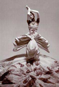 'Couture Club', Photographers: Mark & Sam, L'Officiel #888 2004.  John Galliano for Christian Dior Fall Winter 2004 Haute Couture
