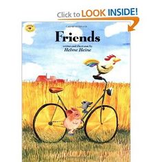 Three Little Friends! One of my favorite kid books - hard to find, translated from German.