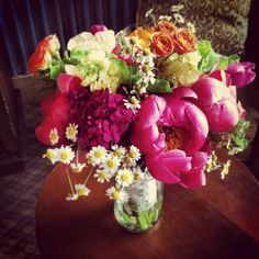 Kait's Bouquet // Flowers for a wedding at Ten Mile Station in Breckenridge, Colorado