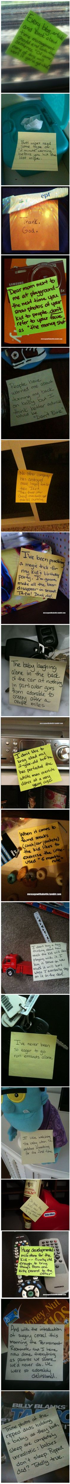 More Post-It Notes From a Stay-At-Home Dad | Mommy Has A Potty MouthMommy Has A Potty Mouth