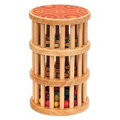 Rain rush bead maze toy